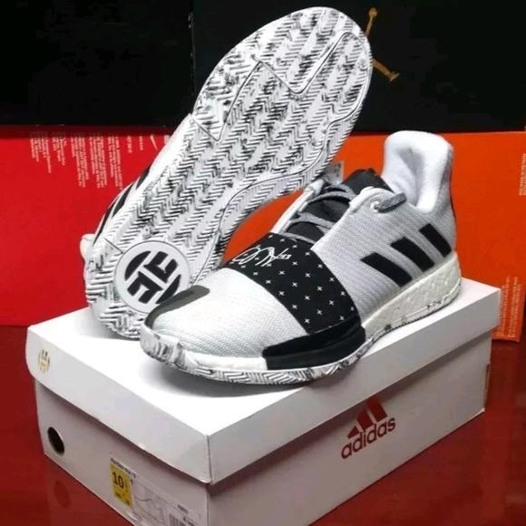 1636e5bf3445 Adidas Harden Vol. 3 Boost Basketball Shoes 10.5